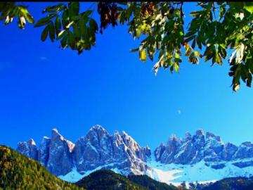 Szwajcarski krajobraz - Piękny szwajcarski krajobraz