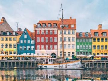 Bunte Häuser Dänemark - Bunte Häuser in Dänemark