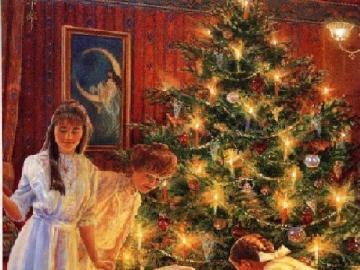 Strojenie choinki - strojenie choinki Boże Narodzenie