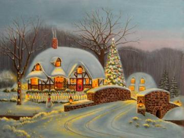 Piękna zima. - Krajobraz. Piękna zima.