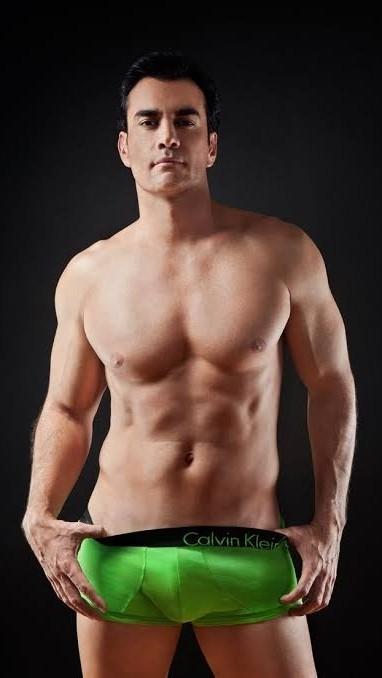 David Zepeda in ondergoed - David Zepeda in sexy lingerie (5×8)