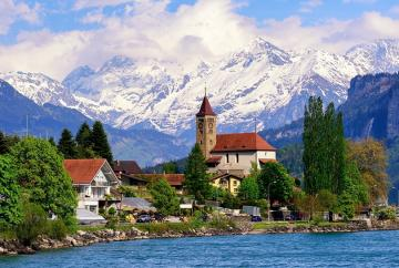 Switzerland in the summer. - Puzzle Switzerland in the summer.