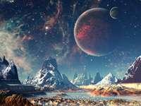 планета пейзаж