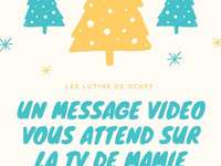 CHRISTMAS MESSAGE - CHRISTMAS MESSAGE TO BE CONSTRUCTED BY CHILDREN
