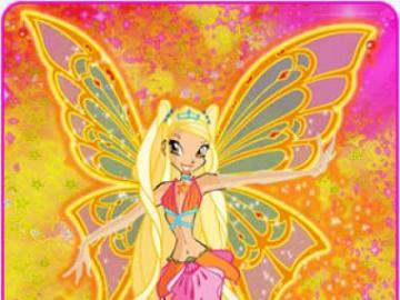 日月 仙子 絲黛娜 - 超 仙靈 女 (Enchantix) 型態