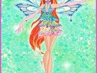 火 仙子 蕾 兒 - 超 仙靈 女 (Enchantix) 型態