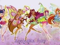 仙靈 組 - 超 仙靈 女 (Enchantix) 型態