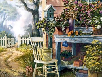 paradise in the garden - garden paradise landscapes