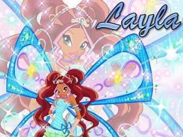 水 仙子 萊拉 - 仙靈 魔法 -Flyrix 型態