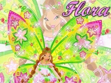 花草 仙子 芙羅拉 - 仙靈 魔法 -Flyrix 型態