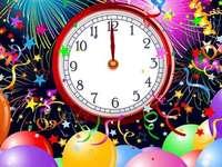 Anul Nou vine. - Ajunul Anului Nou. Puzzle de Anul Nou. Ajunul Anului Nou. Crăciun.