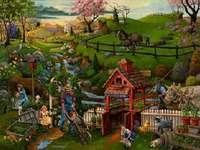 Cuadro agrícola