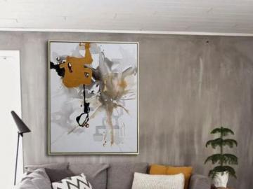 Graues Wohnzimmer - Wohnzimmer in verschiedenen Grautönen