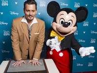 Mickey y Johnny depp