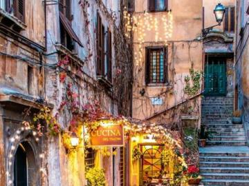 Piękny kącik w Rzymie, Włochy - Piękny kącik w Rzymie, Włochy