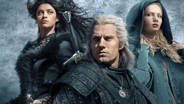Los héroes principales de The Witcher - The Witcher series, The Witcher puzzle, Netflix