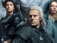 I principali eroi di The Witcher - La serie The Witcher, il puzzle di The Witcher, Netflix