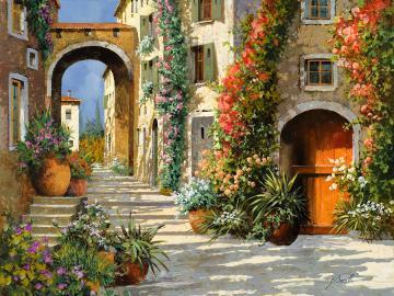 Italian garden village - Italian garden village