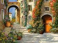 Ιταλικό χωριό κήπων