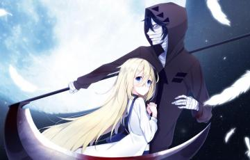 Satsuriku no tenshi - Puzzles that are easy to solve. Very nice graphics and characters