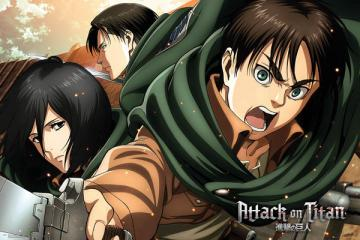 Anime Puzzle Attack On Titan - Anime puzzles. Puzzle with Attack on Titan