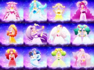 星之公主 - 星光閃亮☆光之美少女。 在星空界中心聖域「星之宮殿」擔當了維持全宇�