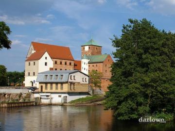 Castello sul fiume - Castello dei Duchi di Pomerania a Darłowo