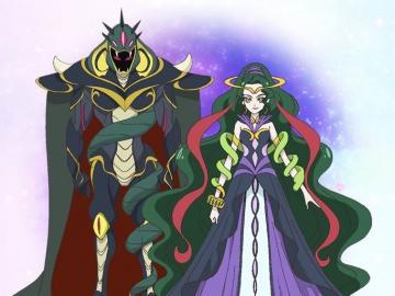 達克尼斯特 / 蛇 夫 座 公主 (Darknest / Princess of Ophiuchus - 星光閃亮☆光之美少女。 來自及代表蛇夫座的星之公主,是曾經離開了星�