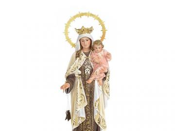 Our Lady of Mount Carmel - The picture shows the Mother of God from Mount Carmel.