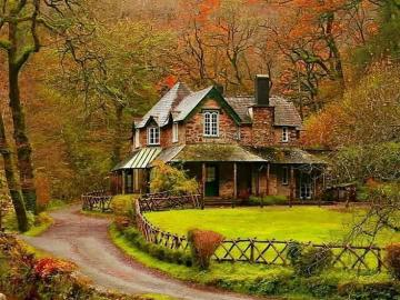 House of Watersmeet, Lynmouth, Devon, England - House of Watersmeet, Lynmouth, Devon, England
