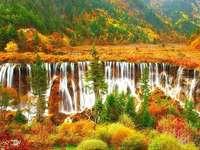 Kolorowa jesień. - Kolorowa jesień. jesienne liście kolorowe. Krajobraz. Kolorowa jesień. Krajobrazy. Kolorowa jesie