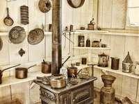 Kamna v kuchyni - Tak vypadaly kamna našich babiček v kuchyni