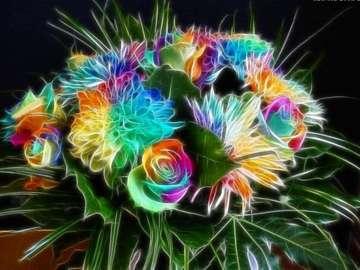 Bouquet  - Artistic flower bouquet.