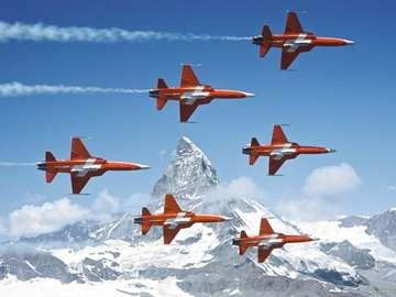 Swiss patrol. - Szwajcarski patrol