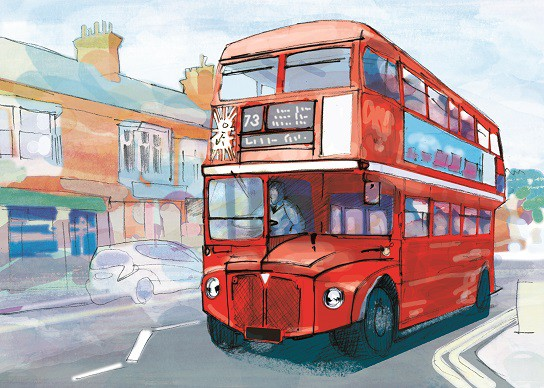 Picture, Anglia - Anglia, Londra, pictură (13×9)