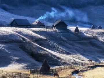 widoczek - paesaggio di terreno montuoso