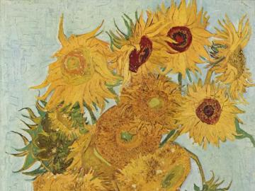 "sunflowers - painting ""Sunflowers"" by Vincent van Gogh"