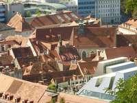 Tejados en Graz, Austria