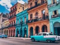 Clădiri colorate