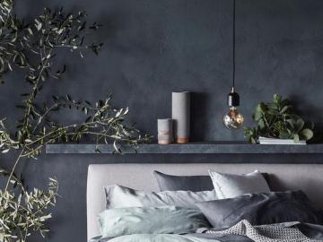 Przytulna sypialnia - Projekt przytulnej sypialni, puzzle wnętrza