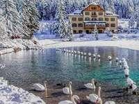 Езерото Добиако, Трентино Алто, Италия.