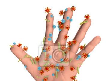 Dirty hands - Puzzles for classes on personal hygiene