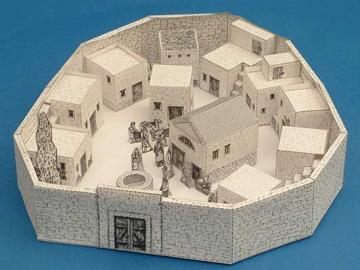 A village in the time of Jesus - A village in the time of Jesus for the lapbook