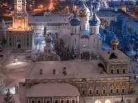 Noite mágica de inverno em Moscou - Noite mágica de inverno em Moscou