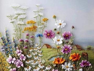 Pequeñas flores - Flores pequeñas flores paisaje