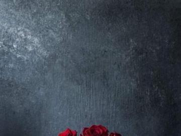 Rosas rojas en el libro - Rosas rojas en el libro