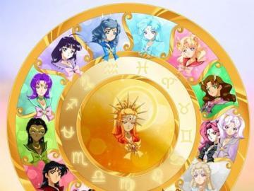 星座 輪盤 - 以 太陽 戰士 為 中心 的 十四 位 (雙子座 兩位 + 蛇 夫 座) 星座 戰士