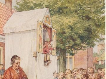 Děti u divadla - Venkovské děti a divadlo