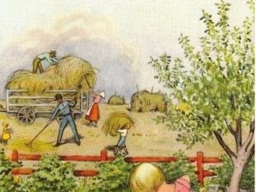 V létě na vesnici - V létě na vesnici, rodinka je zaměstnaná