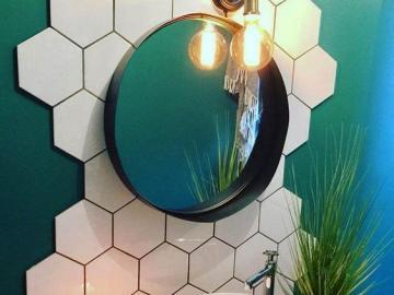 Zieleń w łazience - Aranżacja łazienki w zielonym kolorze
